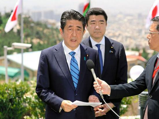 安倍晋三访问伊朗 图朝日新闻