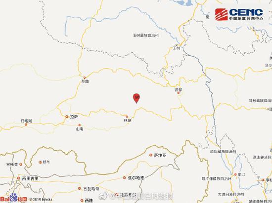 图片来自中国地震台网