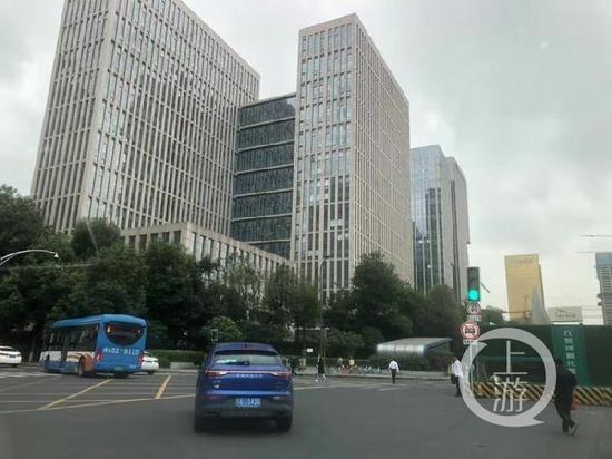 ▲余治蓉最后出现的成都地铁一号线孵化园站。摄影/上游新闻记者 胡磊