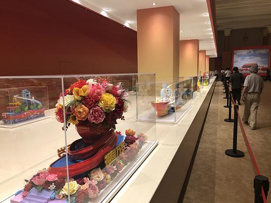 彩车模型展厅