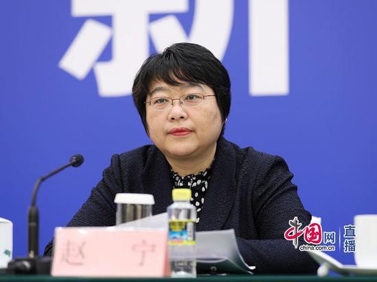 国家卫生健康委员会法规司司长赵宁 中国网 宗超 摄