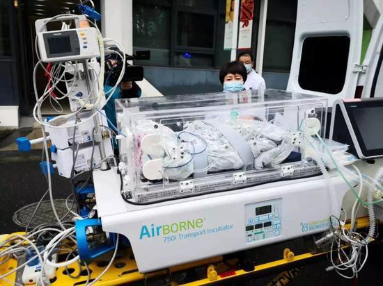 杭州一新冠患者新生兒檢測陰性 是否感染需觀察圖片