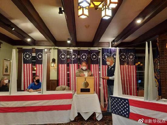 2020年美国大选选举日投票正式开始