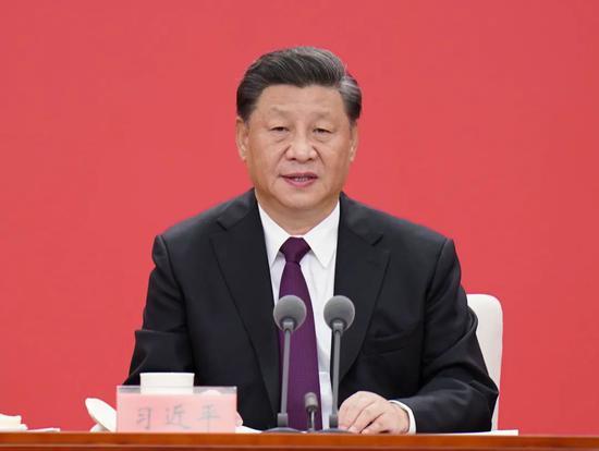 △ 10月14日,习近平在深圳经济特区建立40周年庆祝大会上发表重要讲话。新华社记者 张领 摄