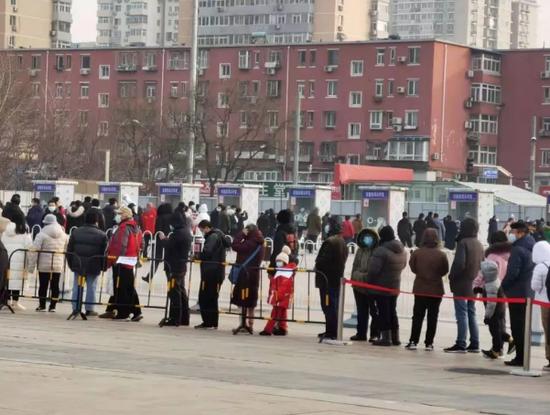 北京西城区北展核酸检测点
