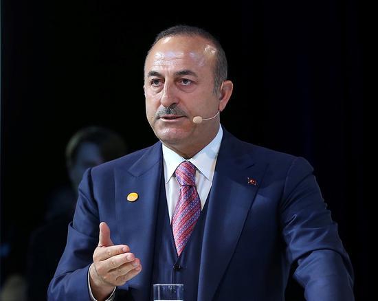 土耳其外长恰武什奥卢 视觉中国 资料图