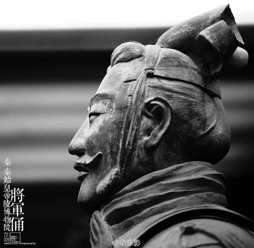 西安秦始皇帝陵博物院 秦 将军俑。来源:受访者供图
