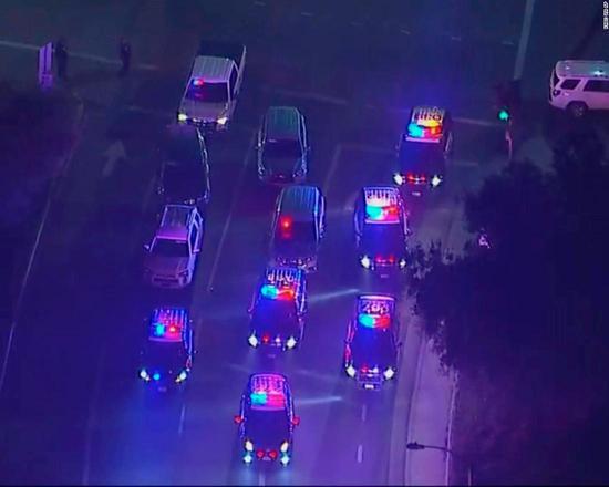 圖為槍擊案事故現場。(CNN)