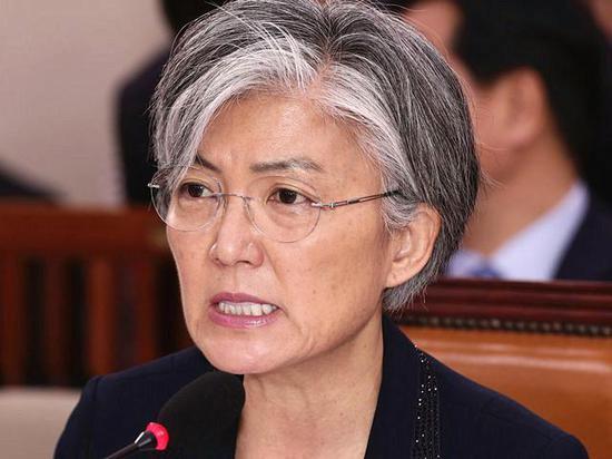 6月7日,韩国外长提名人康京和在国会听证会上作证。