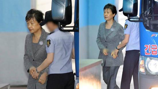 朴槿惠17日羁押期满,但无法获释。