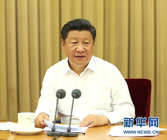 2016年8月19日至20日,全国卫生与健康大会在北京举行。习近平出席会议并发表重要讲话。图片来源:新华社