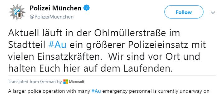 慕尼黑发生枪击案 已致2人死亡