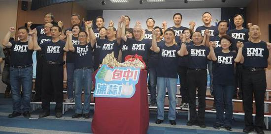 吴敦义与蓝营县市长候选造势:民进党不倒台不会好