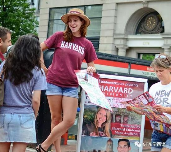 每年都有大量中国学生去哈佛游学