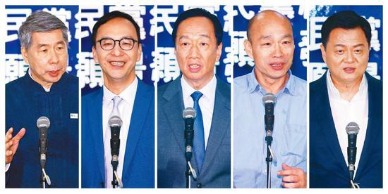 國民黨第二場黨內初選政見發表會29日在臺中舉行(臺媒)