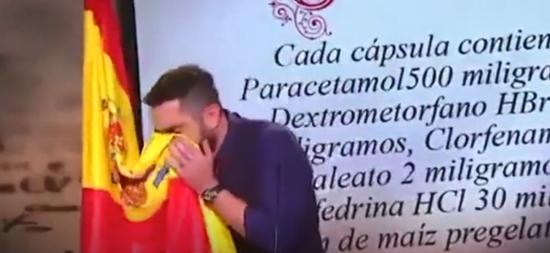ag游戏破解器哪个好_喜剧演员边用西班牙国旗擦鼻涕边调侃中国_被起诉