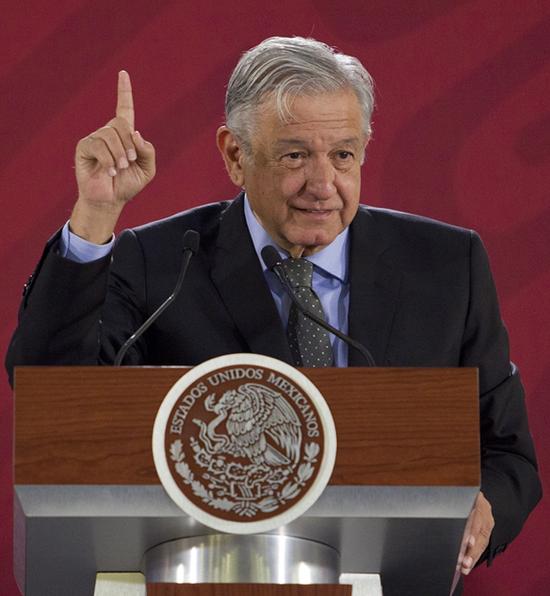墨西哥总统奥夫拉多尔,图源:东方IC