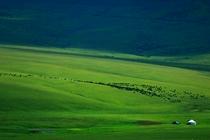 新疆托克逊县景色