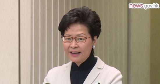 香港当局消休网