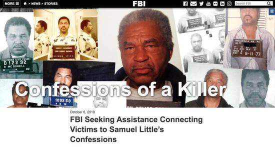 """▲""""confessions of a killer""""网站截图"""