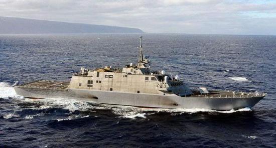 """资料图片:美海军自由级""""濒海战斗舰""""。(图片来源于网络)"""