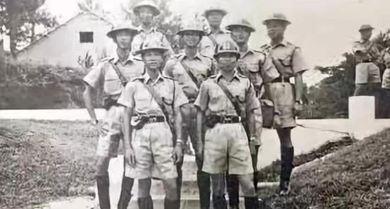 威海成为英国殖民地后,英国招募威海人入伍(资料图片)
