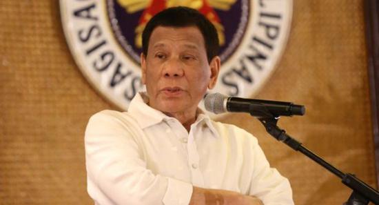 菲律宾总统杜特尔特(Inquirer.net)