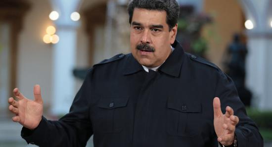 委内瑞拉总统马杜罗。(图源:路透社)