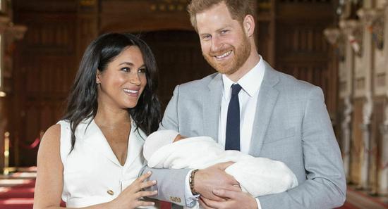图源:哈里王子夫妇。(图源:美联社)