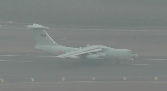 伊爾-76運輸機運輸機 圖源:央視新聞