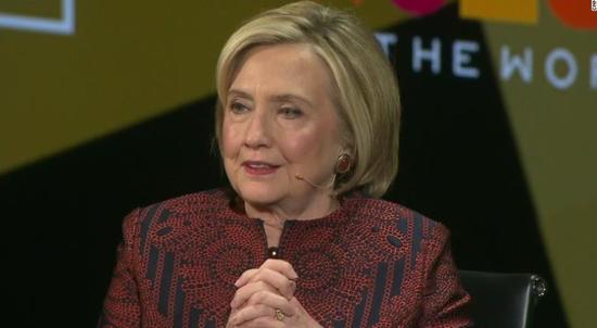 希拉里:很多很多很多人要我考慮參加2020總統大選