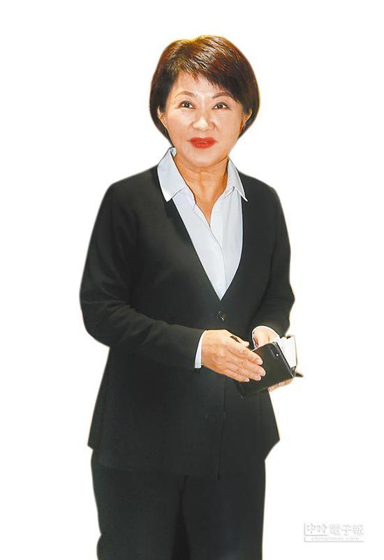 """台中市长当选人卢秀燕。(图片来源:台湾""""中时电子报"""")"""