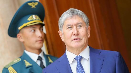 吉尔吉斯斯坦前总统阿坦巴耶夫 (图源:塔斯社)