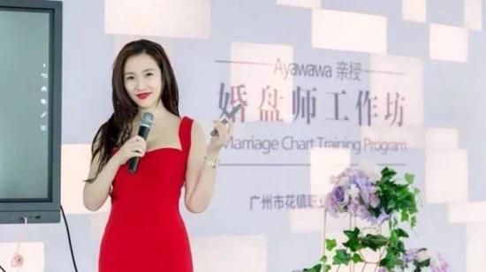 """Ayawawa和她的情感咨询公司""""花镇""""(图片来自网络)"""
