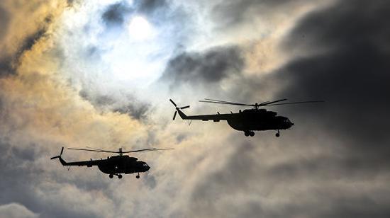 米-8军用直升机资料图 (图源:俄新社)
