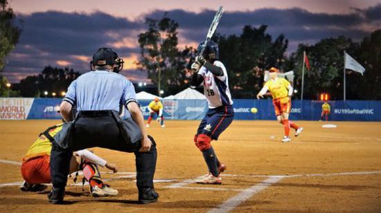 """U19世界杯女垒赛现场。(图:""""中央社"""")"""