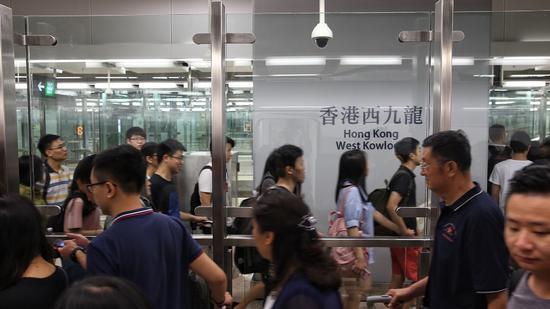 香港西九龙站(图源港媒)