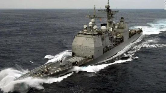 钱瑟勒斯维尔号导弹巡洋舰