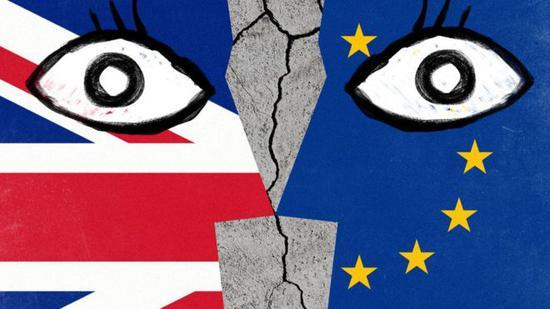"""英国民众担忧,或将迎来""""无协议脱欧""""。(图:路透社)"""