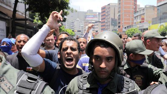"""委内瑞拉发生""""骚动""""(俄罗斯卫星通讯社)"""