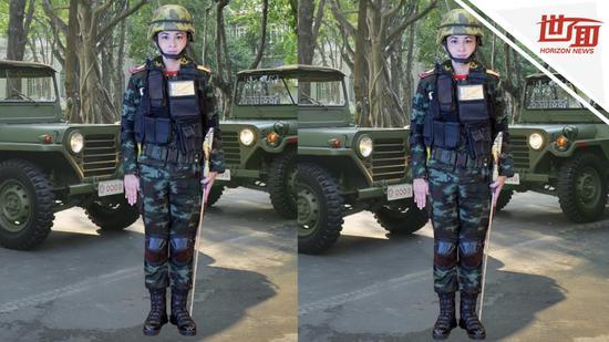 泰国新王后官方肖像发布 网友:PS技术不过关(图)_法国新闻_法国中文网