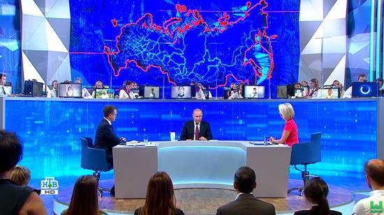 普京回应是否对西方制裁屈服 还提到了中国华为