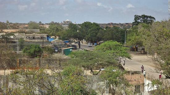 资料图:索马里海港城市基斯马尤