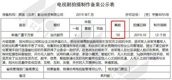 图片来源:截自广电总局官网