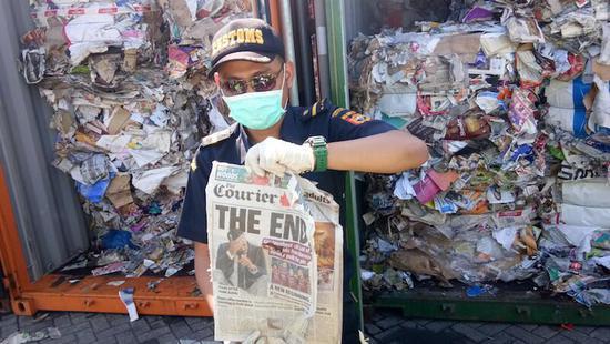 印尼12岁女孩致信特朗普:为啥总把垃圾出口到我国