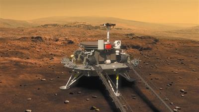 2016年发布的火星车与着陆巡视器外观设计构型图。