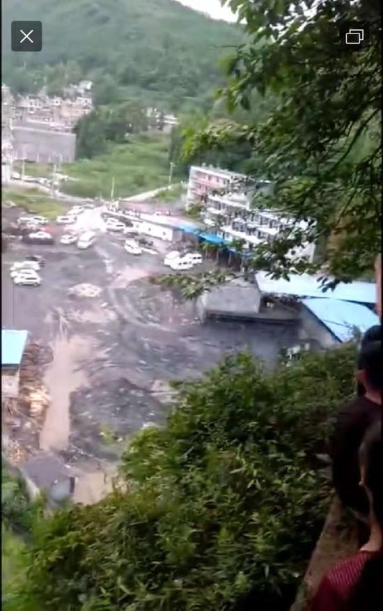 事發煤礦。 圖源:當地村民供圖