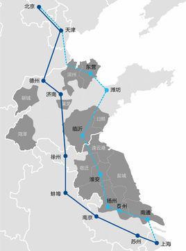 北京至煙臺僅需3小時 京滬高鐵二通道又有新進展圖片