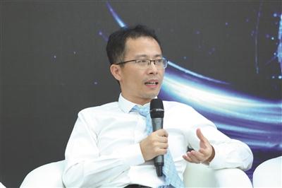 """""""海斯凯尔""""CEO邵金华。"""