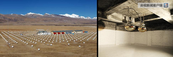 我国西藏羊八井国际宇宙线观测站